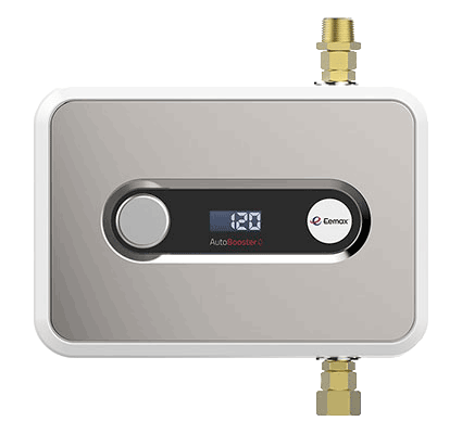 How a Tankless Booster Can Increase Hot Water Capacity by 45%