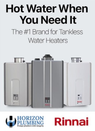 Horizon Rinnai Tankless Water Heater