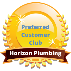 Horizon Plumbing Preferred Customer Club Badge